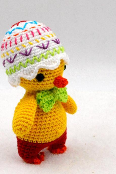 Crochet pattern: Pipo the mini Easter chick