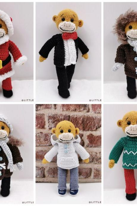 Crochet pattern: Siloh's winter clothes