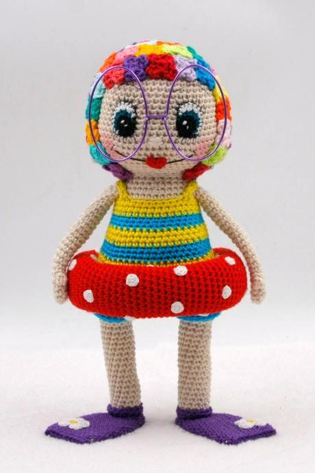 Crochet pattern: Claudine at the beach